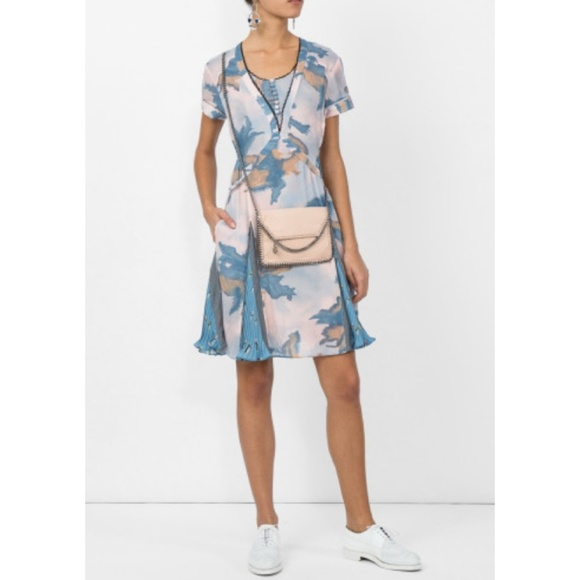 Free Shipping Footlocker Sast Online Coach Dreamy Floral Print Pleated Dress Coach Outlet Store Online HwVMxg8Fn